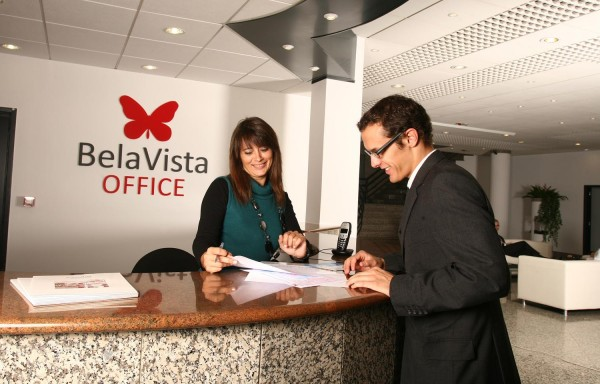 Recepção no BelaVista Office